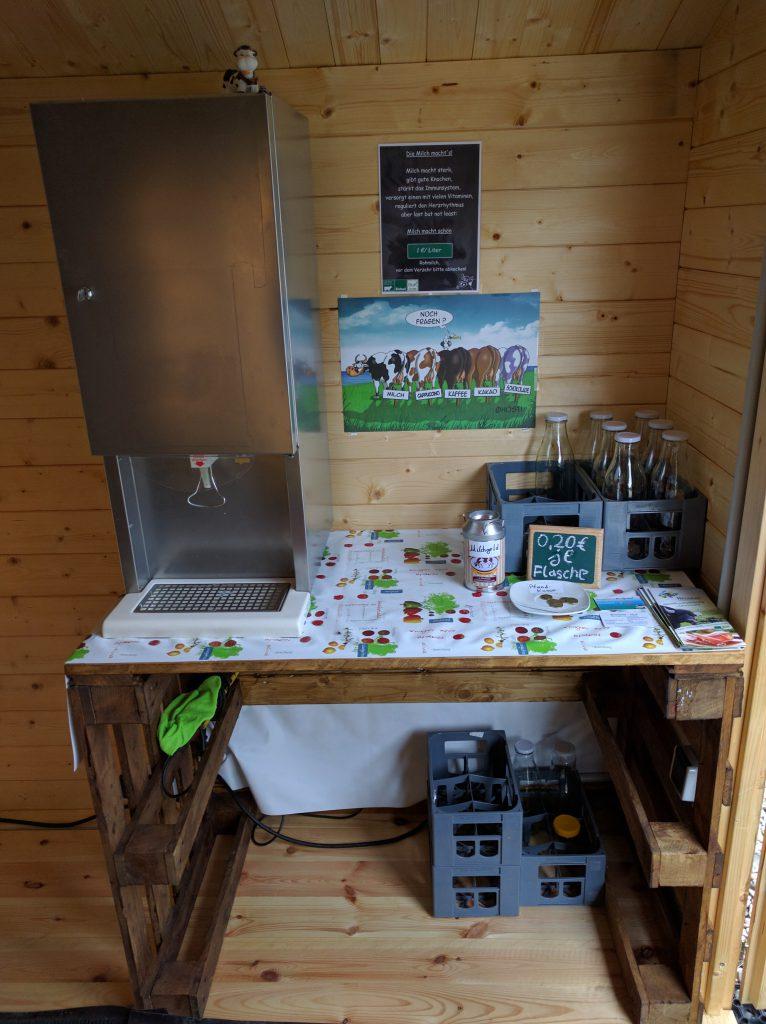 Milchautomat Bierßenhof